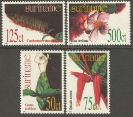 Suriname Republiek  757/760 Planten 1993 Postfris