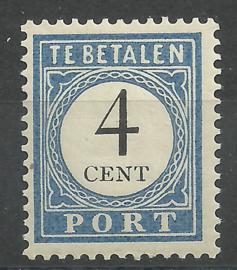 Port  18 4 ct 1894/1910 Cijfer en Waarde Postfris (1)