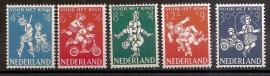 Nvph 715/719 Kinderzegels 1958 Postfris