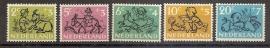 Nvph 596/600 Kinderzegels 1952 Postfris