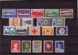 Complete jaargang 1957 Postfris
