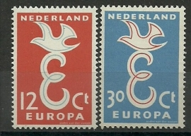 Nvph 713/714 Europazegels Postfris