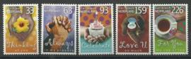 Caribisch Nederland    7/11 Groet en Wenspostzegels Postfris