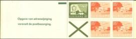 SR Postzegelboekje 1c Postfris