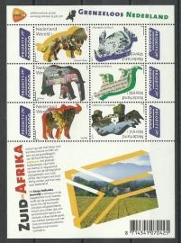 Nvph V2844/2849c Grenzeloos Nederland Zuid Afrika Postfris