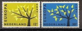 Nvph  777/778 Europa 1962 Postfris