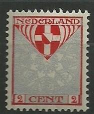 Nvph 199 2 + 2ct  Kinderzegels 1926 Postfris