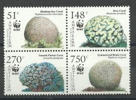 Nederlandse Antillen 1607/1610 WWF 2005 Postfris