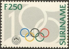 Suriname Republiek  807 100 Jaar Olympisch Comité 1994 Postfris