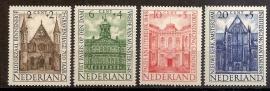 Nvph 500/503 Zomerzegels 1948 Postfris