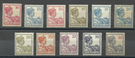 Curacao  57/67 Koningin Wilhelmina Postfris (1)