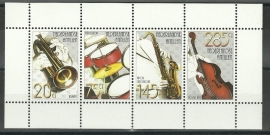Nederlandse Antillen 1439 Muziek Postfris