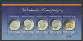 Caribisch Nederland  33 Nederlandse Troonopvolging 2012 Postfris