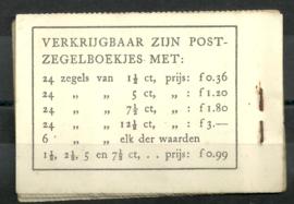 PZ 22c-1 4 × 6 (Nvph 172B) Roomkleurige Kaft