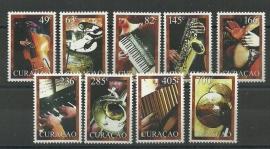 Curaçao Status Aparte  19/27 Muziekinstrumenten Postfris