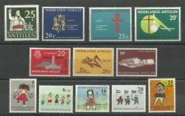 Nederlandse Antillen Jaargang 1963 Postfris