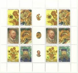 Nederlandse Antillen V1586/1591 Vincent van Gogh Postfris
