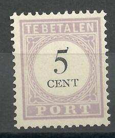 Suriname P 10 5ct Type II Ongebruikt (2)