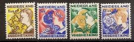 Nvph 248/251 Kinderzegels 1932 Ongebruikt