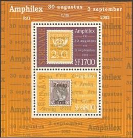 Suriname Republiek 1169 Blok Amphilex 2002 Postfris