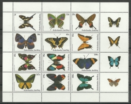 Nederlandse Antillen 1427/1438 Vlinders 2003 Postfris