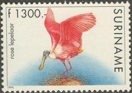 Suriname Republiek  797 Vogel 1994 Postfris