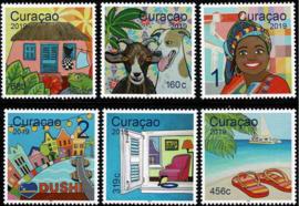 Curaçao Status Aparte 404/409  Toerisme 2019 Postfris