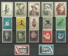 Complete jaargang 1956 Postfris