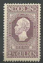 Nvph  99 2½ Gld Jubileum 1913 Ongebruikt (koopjeshoek)