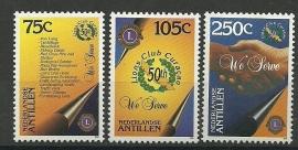 Nederlandse Antillen 1113/1115 Lions Club Postfris
