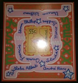 Carnet met 3 decembervellen 1997 (V1740/1745) met KerstCD Compleet en Postfris