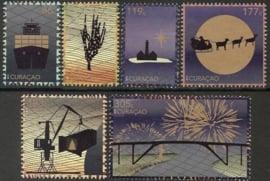 Curaçao Status Aparte 310/315 Decemberzegels 2015 Postfris