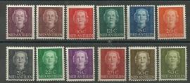 Nederlandse Antillen 218/229 En Face Lage Waarden Postfris
