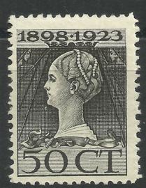 Nvph 128F (11½×11½) 50 ct Jubileum 1923 Postfris (1)