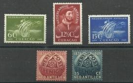Nederlandse Antillen Jaargang 1949 Postfris