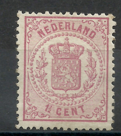 Nvph  16C 1½ct  Wapenzegel 1869/1871 Ongebruikt (1)