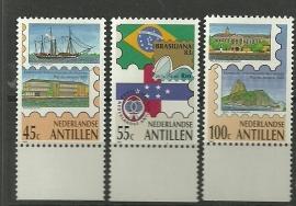 Nederlandse Antillen 743/745 Postfris