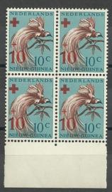 Nederlands Nieuw Guinea 27 PM3 als 39 in blok Postfris
