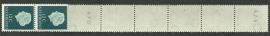 Rolzegel 618 Rc 10 strip Postfris