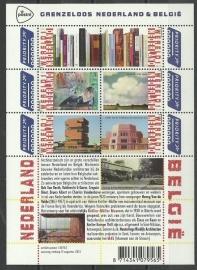 Nvph V3089/3094b Grenzeloos Nederland België Postfris