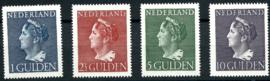 Nvph 346/349 Hoge Waarden Konijnenburg Postfris + Certificaat (10)