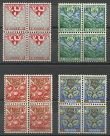 Nvph 199/202 Kinderzegels 1926 in Blokken van 4 Postfris (1)