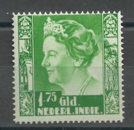 Nederlands Indië 209 1¾ Gld Koningin Wilhelmina  Postfris