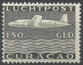 Luchtpost 82 1½ Gld Vliegtuig Postfris (1)