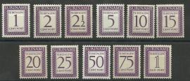 Suriname P 47/P57 Postfris