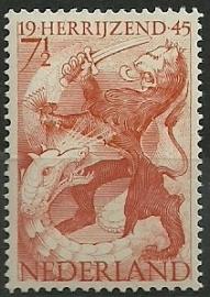 Nvph 443 Bevrijdingszegel Postfris