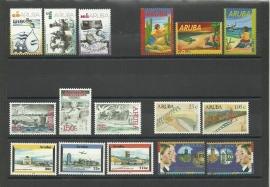 Complete Jaargang Aruba 2002 Postfris