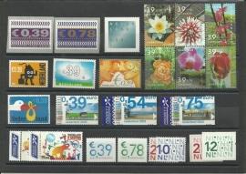 Complete Jaargang 2002 Postfris (alleen losse zegels)