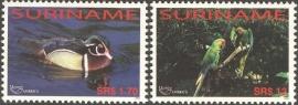 Suriname Republiek 1278/1279 UPAEP 2004 Postfris