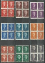 Nieuw Guinea 10/18 En Face Postfris (Blokken van 4)
